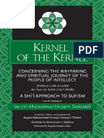 57083257 Ebooksclub Org Kernel of the Kernel Concerning the Wayfaring and Spiritual Journey of the People of Intellect a Shii Approach to Sufism
