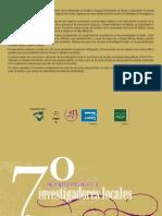 VII Encuentro Provincial de Investigadores Pro Vinci Ales Sevilla Mayo2010