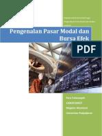 Pengenalan Pasar Modal Dan Bursa Efek