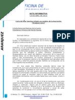Respuesta a Aranjuez Laica