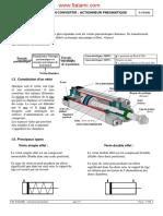 Fonction Convertir Actionneur Pneumatique N.L.techNIQUE PROF S.charI