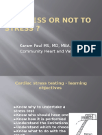 Chest Pain, When to Cath, When Not to Do a Stress Test.paul