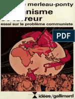 Humanisme Et Terreur introduction