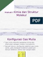 Ikatan Kimia Dan Struktur Molekul