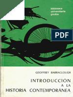 Geoffrey Barraclough Libro Introduccion a La Historia Contemporanea