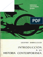 Geoffrey Barraclough Libro Introduccion a La Historia Contemporanea