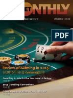 Oriental Game - The Monthly Bet [December 2015 Issue]