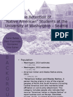 capstone - success and retention of native american students   uw