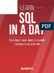 Learn SQL in a Day