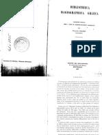 "Francois Halkin ""Bibliotheca Hagiographica Graeca"" volume 1"