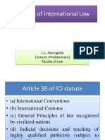 Source Public International Law Naveen