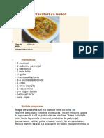 Supa de Zarzavaturi Cu Bulion