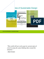 Philosophy of Sustainable Design