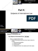 Subjects of International Law
