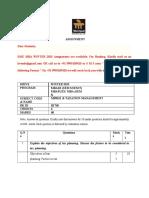 Mf0012 & Taxation Management