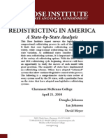 Redistricting in America