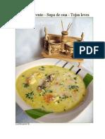 Supa de Zdrente-Supa de Ou
