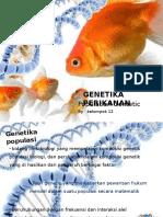 GENETIKA  - POPULASI