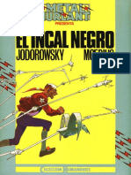 Adult Comix - Jodorowsky & Moebius - El Incal - I. El Incal Negro
