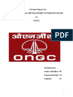 A Project Report on Ongc