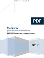 Manual de Mendeley, Gestor de Referencias Bibliográficas