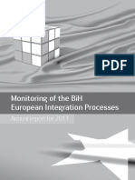 Monitoring of the BiH European integration process - 2011 annual report