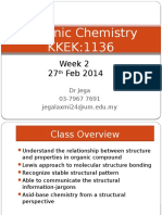 Organic Chemistry Week 2