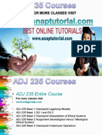ADJ 235 Academic Success/snaptutorial