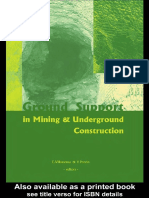 Ground Support in Mining and Underground Construction_2