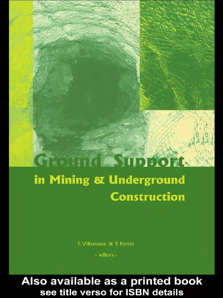 Ground support in mining and underground construction2 momentum ground support in mining and underground construction2 momentum force fandeluxe Gallery