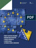 Principi uspostave efikasnog koordinacionog mehanizma u procesu integracija u Evropsku Uniju za Federaciju Bosne i Hercegovine