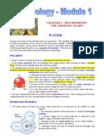 Ch 3 - Biochemistry