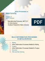 Proses bulk deformasi