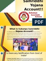 Know Sukanya Samriddhi Yojana Account Benefits