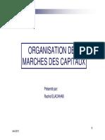 Organisation Marché Des Capitaux