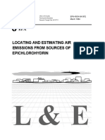 Epichlorohydrin as Pollutant