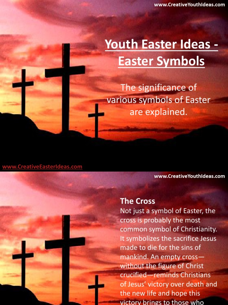 Youth easter ideas easter symbols easter lamb of god biocorpaavc Choice Image