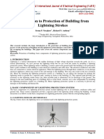 Introduction to Protection of Building from Lightning Strokes