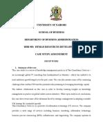 DHR 503 Assignment Mombasa
