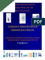 Sistema Multilateral y OI