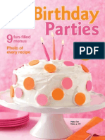 Betty Crocker, Birthday Parties,Special 2008 Issue