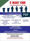 Job Advertisement - March1
