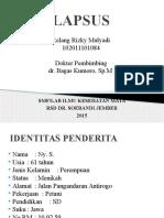 Lapsus Pterigium.pptx