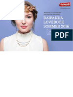 DaWanda Lovebook Sommer 2016