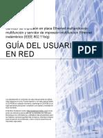 Manual de Red - Impresora Brother Cv_mfc6490w_spa_net_c