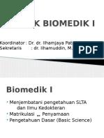 Kuliah Pendahuluan Biomedik I
