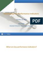 LIU_Post_Developing Key Performance Indicators