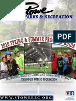 2016 Spring/Summer Brochure