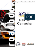 Roadbook Rali Da Camacha 2010