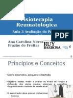 Aula Avaliação Em Rematologia